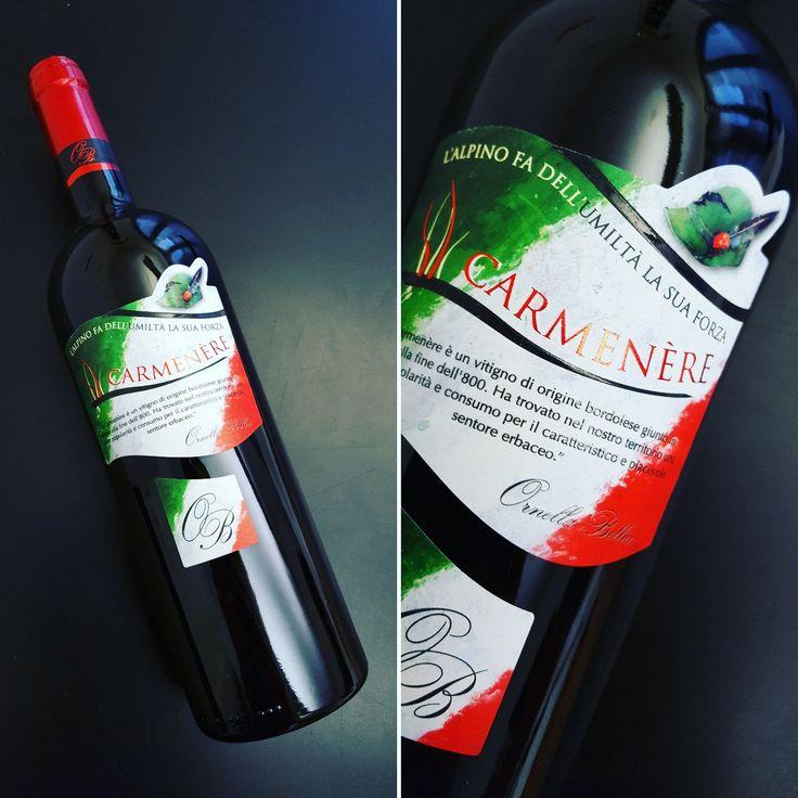 W gli Alpini! 🇮🇹 etichetta celebrativa realizzata per la Cantina Ornella Bellia.#alpini #alpinitreviso2017 #italia #ornellabellia #ornellabelliawines #francesconcollodi #cappelloalpino #winelabel #etichettadivino #carmenere #graphicdesigner #label #verderossobianco #redwine #vinorosso #vinorosso🍷 #francescon #collodi #instagram
