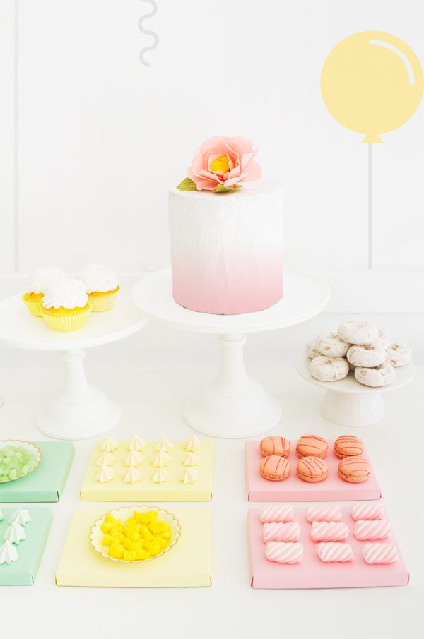 Gorgeous pastels for a beautiful party!