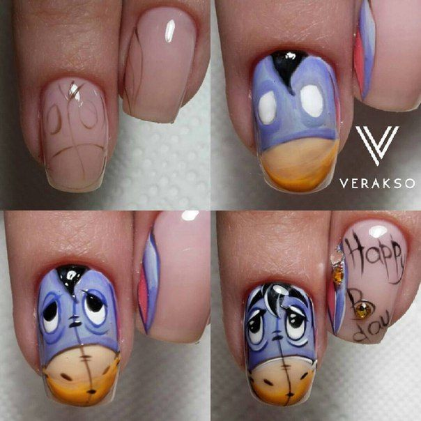 Character Design Nails : Best unhas images on pinterest
