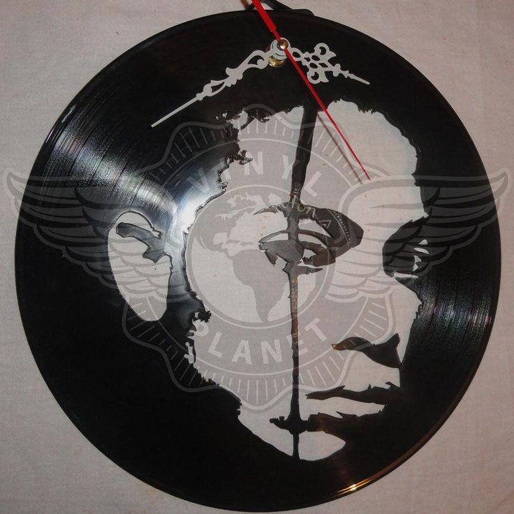 VINYL PLANET Wall Clock TERENCE TRENT D' ARBY - Sananda Maitreya Home Record