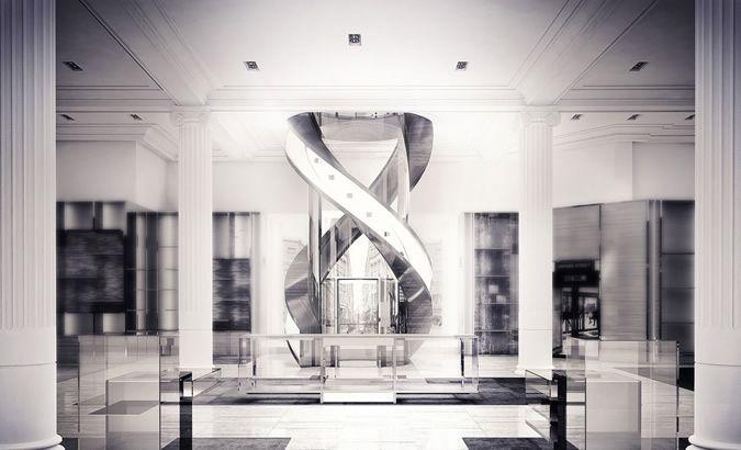 nice Louis Vuitton Townhouse at Selfridges