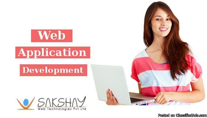 #WebApplicationDevelopment Company India - Sakshay