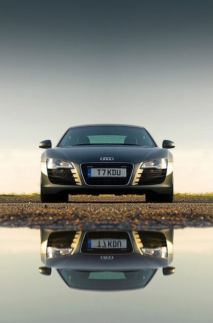 #Audi #R8 Reflection