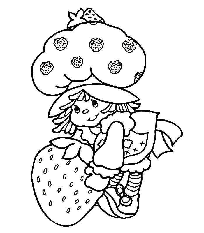 vintage coloring pages of children - photo#47