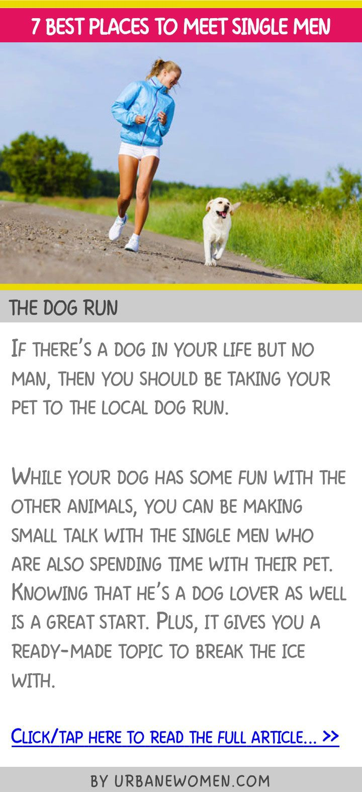 7 best places to meet single men - The dog run