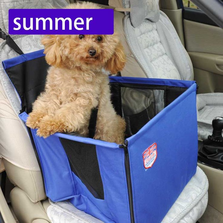 Protable Pet dog carrier bag Dog car front Seat Puppy Dog Cat Travel booster Seat bag for small dog Pet Travel Accessories