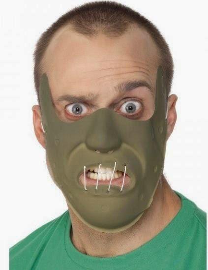 Máscara de Hannibal Lecter y disfraz | Disfraces Originales