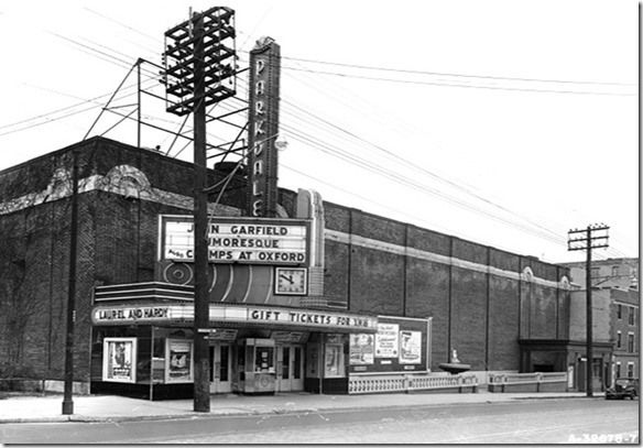 photos of old movie houses | Toronto's old movie houses—the Parkdale on Queen St. near ...