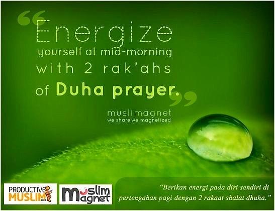 Dhuha prayers