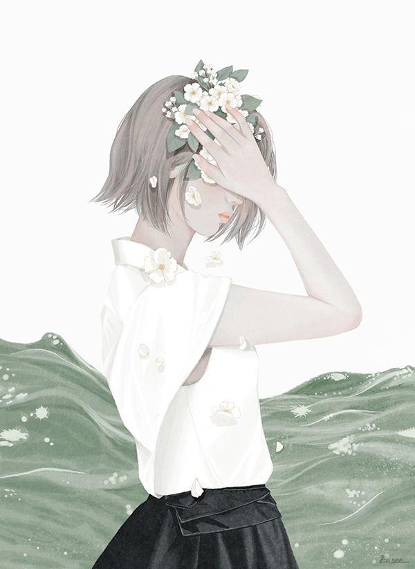 2014 / Digital Painting / ⓒ ENSEE - Choi Mi Kyung