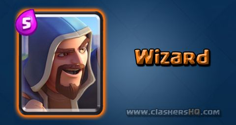 Find out all about the Clash Royale Wizard Card. How to get Wizard & attack/counter Wizard effectively.