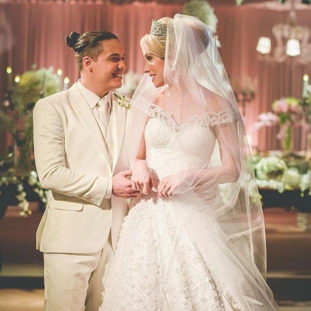 Muito luxo! Wesley Safadão e Thyane Dantas se casam no Ceará