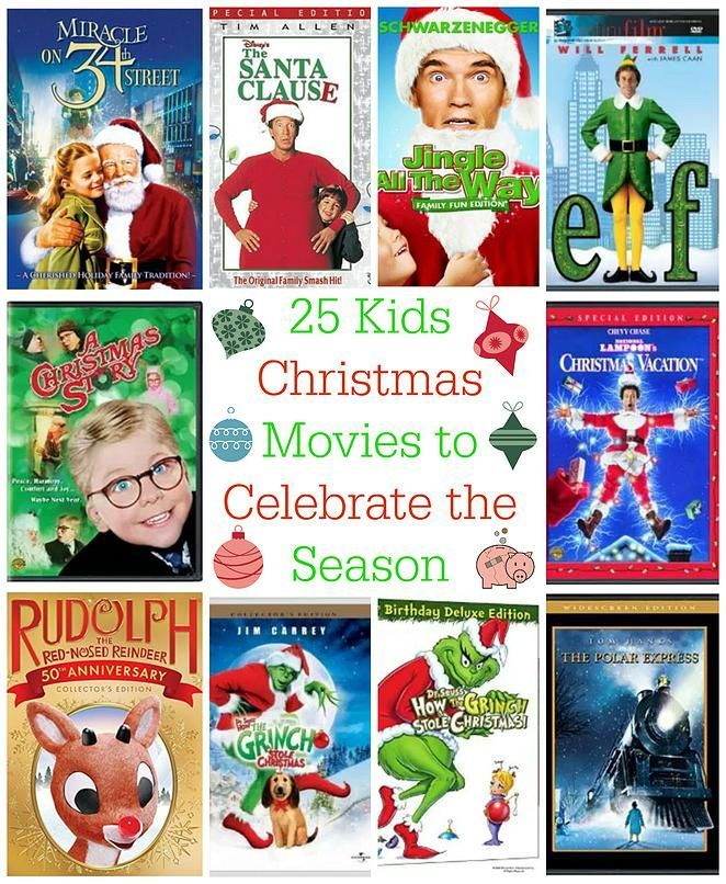 25 Kids Christmas Movies to Celebrate the Season -- My kids love Christmas movies and frankly, I do too. They really help to get me in the Christmas mood! I've compiled a list of 25 kids Christmas movies to celebrate the season!