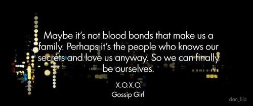 I really wish I had friends like Serena, Blair, Nate, and Chuck    Gossip Girl