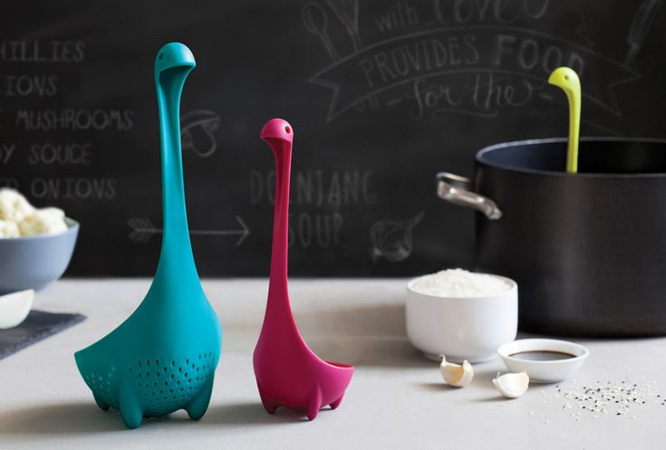 The Mamma Nessie Colander Is The Nessie Ladle's Mom