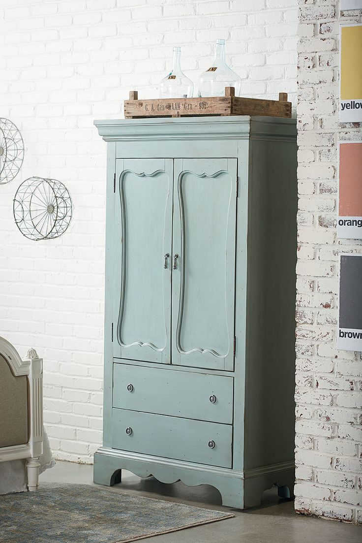 Magnolia Home by Joanna Gaines French Inspired Cameo Armoire – * WE SHIP