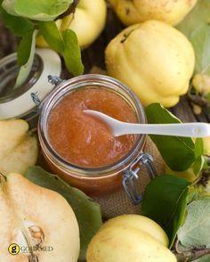 Μαρμελάδα κυδώνι με αρμπαρόριζα κανέλα και τζίντζερ - gourmed.gr