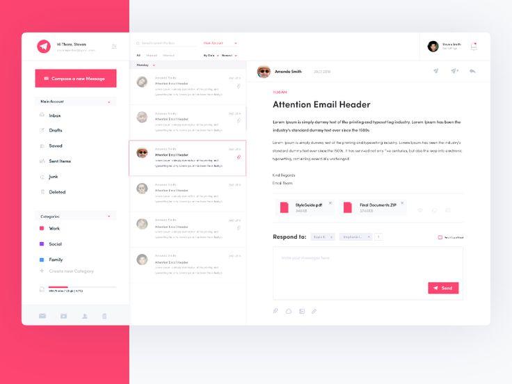 Email Client Concept
