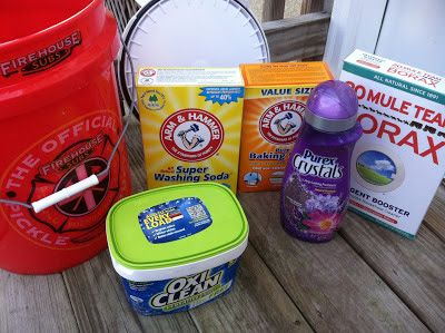 Being Frugal 101: Home Made Laundry Detergent