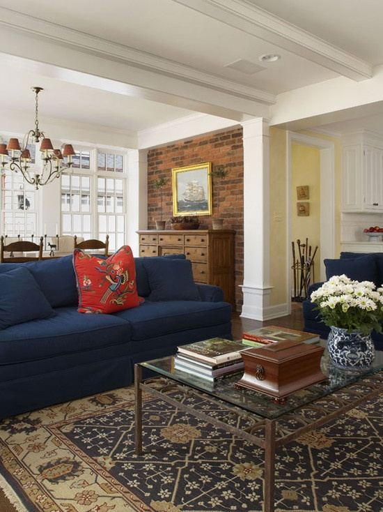 traditional family room navy design pictures remodel decor and ideas page 5