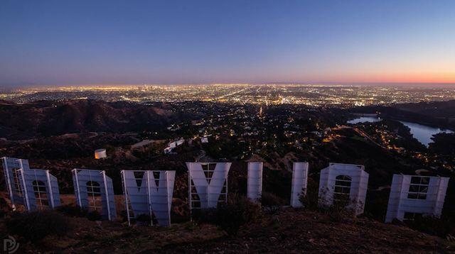 Los Angeles vista de cima