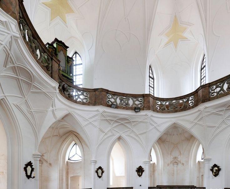 Church of St. John of Nepomuk  Zelená Hora, Czech Republic. 1719-1735  Architect: Jan Blažej Santini-Aichel