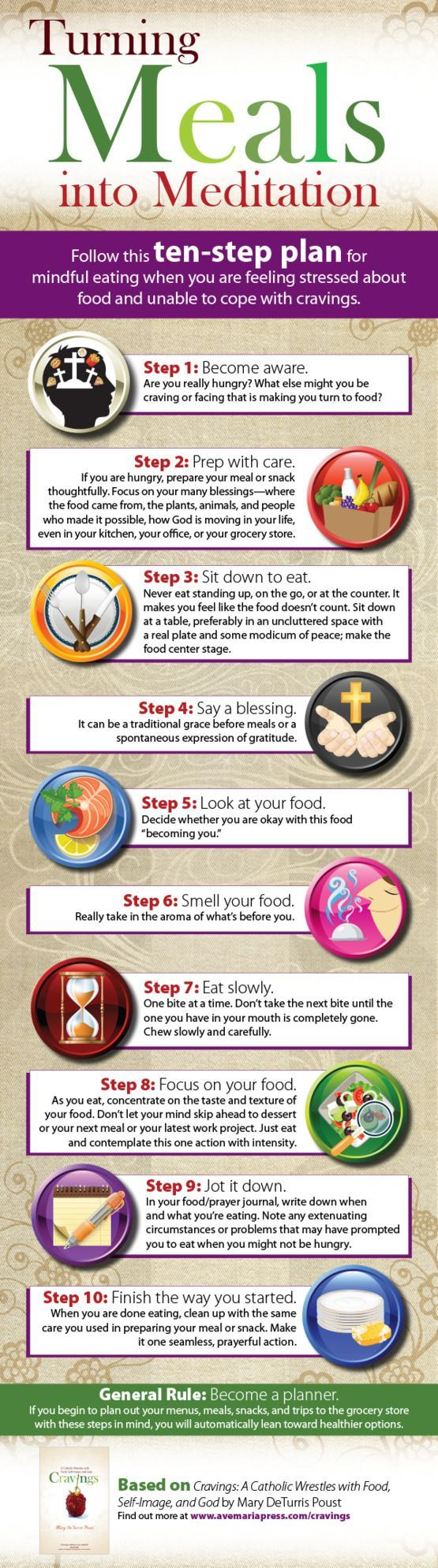 Turning Meals Into Meditation    Follow This Ten Step Plan For Mindful  Eating When