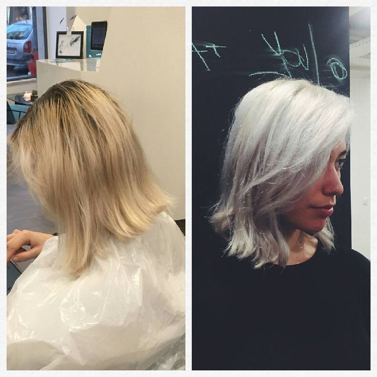 Our gorgeous client @____dovrado received some much needed love witb Olaplex n.1 and n.2 and Manic Panic Blue Steel. We were able to do a full head of bleach to get rid of those yellow tones and uneven colour with mininum damage. Manic Panic's Blue Steel just developed perfectly. We are finding that Olaplex and Manic Panic are the perfect combination to help you achieve those really light blondes so that Manic Panic develops to its full brightest potencial. We just love it! #olaplex…