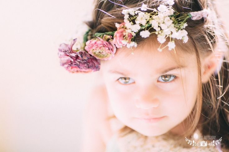 DIY flower crown PERFECT FOR WEDDING AND FLOWER GIRLS