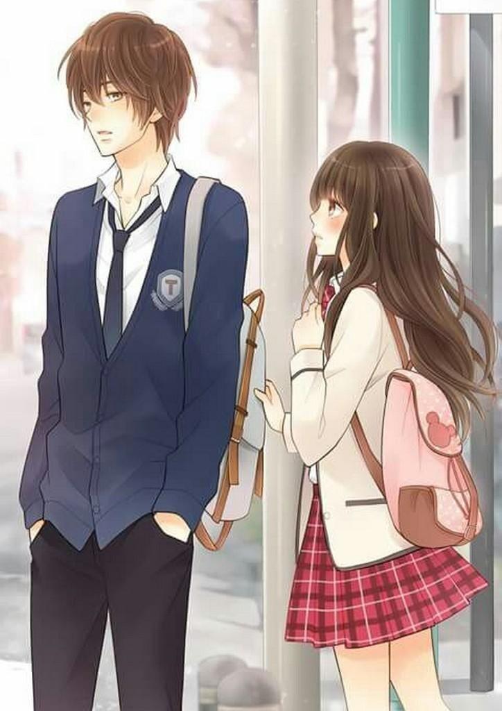 40 Gambar Anime Couple Wallpaper Apk Terbaru 2020 Gambar Anime Pasangan Animasi Gadis Animasi