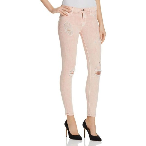 Hudson Skinny Jeans in Sunkissed Pink ($195) ❤ liked on Polyvore featuring  jeans, - Best 25+ Pastel Jeans Ideas On Pinterest Light Pink Pants