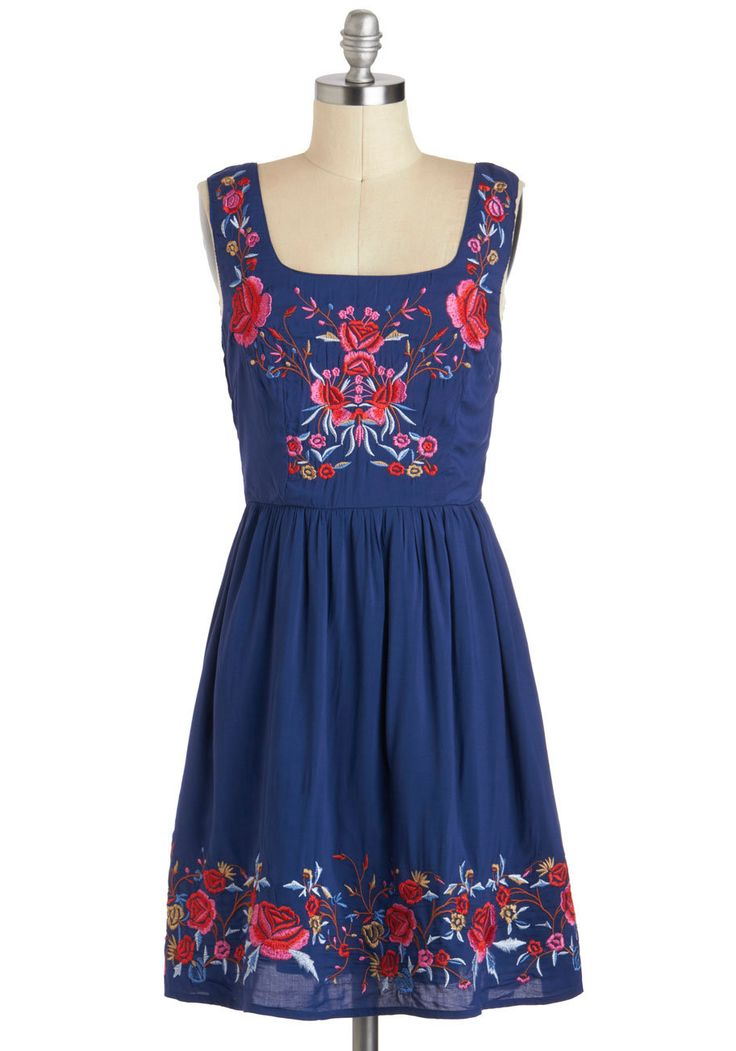 Vintage dress | Judy Blue Skies Dress | Mod Retro Vintage Dresses | ModCloth.com on ...