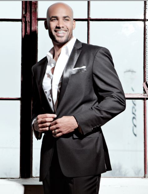 "Boris Kodjoe, who stars in BET's upcoming comedy series ""Real Husbands of Hollywood"", appears in the latest issue of DENIM Magazine."