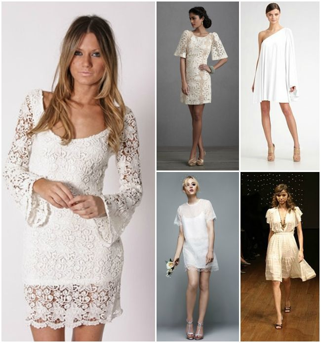 1960s wedding gowns   1960s-retro-short-wedding-dresses