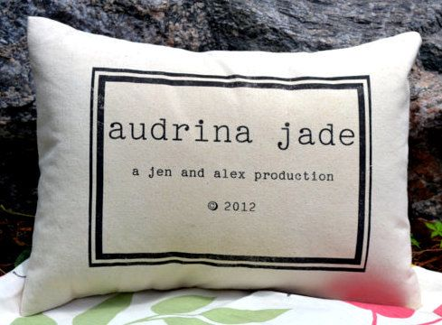Best 25 new parent gifts ideas on pinterest new parents room personalized baby pillow name pillow with copy write date baby gift for your newest negle Image collections