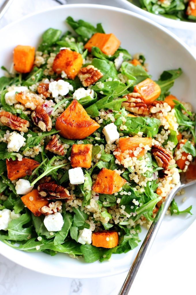 Roasted Sweet Potato and Quinoa Salad | Green Valley Kitchen