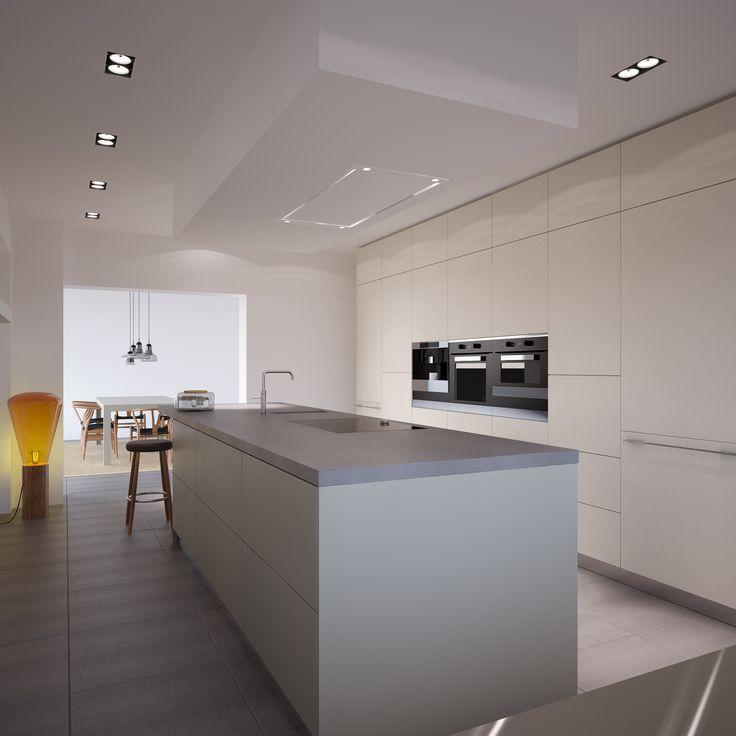 Kookeiland en kastenwand van bulthaup design keukens pinterest van - Moderne keuken deco keuken ...