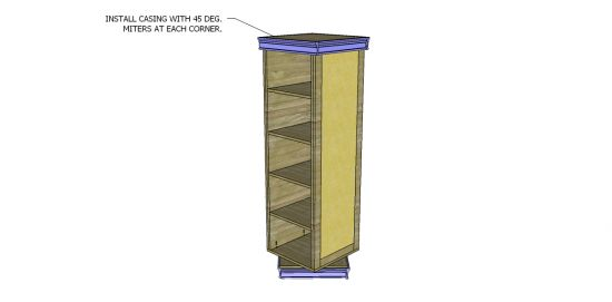 Free DIY Furniture Plans to Build a PB Teen Inspired Display-It Storage Mirror