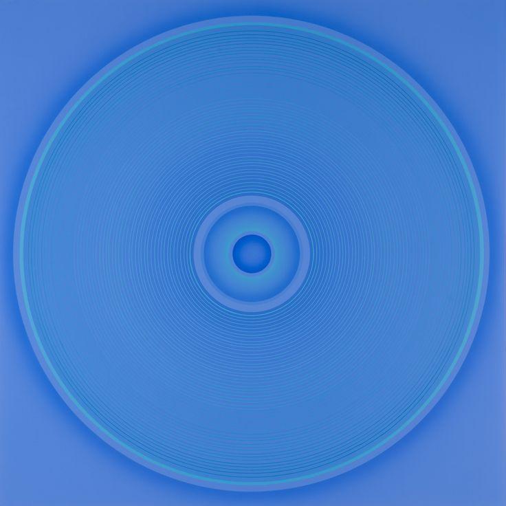 Work 75-Blue-9 / Minoru Onoda, 1975