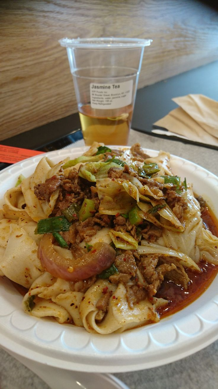 Spicy Cumin Lamb Noodles  leggendari...  By Xi'an Famous Foods, Chinatown NYC.