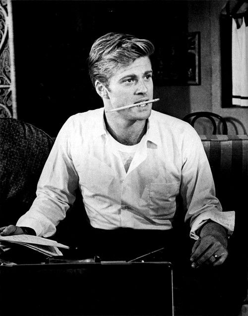 "Redford.  The perfect ""roll up your sleeves and get down to business"" look."