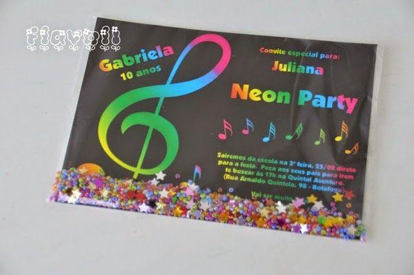 Convite shaker – Festa Musical  :: flavoli.net - Papelaria Personalizada :: Contato: (21) 98-836-0113  vendas@flavoli.net