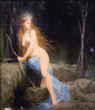 Jules Joseph Lefebvre (1836-1911) - Diana