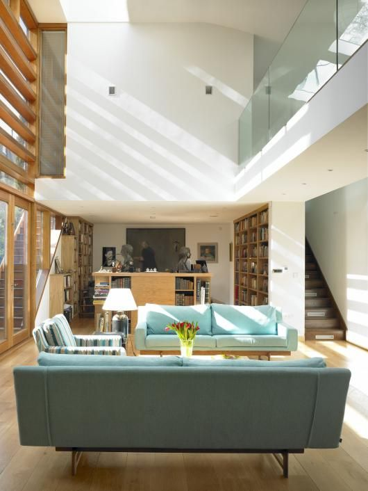 99 best double height spaces images on pinterest future for Double living room ideas
