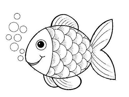 Removing Fish Bubble Coloring Pages