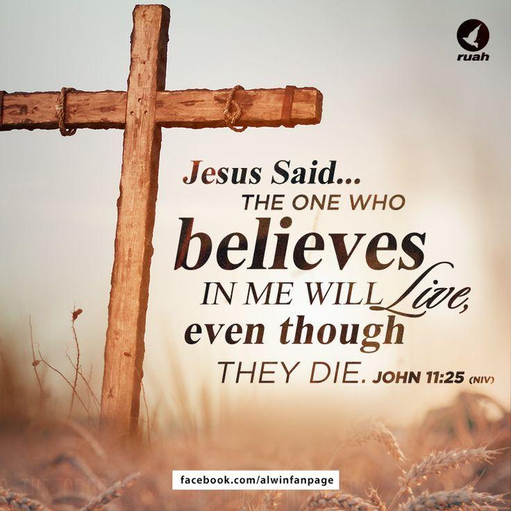JOHN 11:25 I-WE BELIEVE*!!! JESUS*!!!!!!! WE BELIEVE*!!!   ❤️♥️♥️