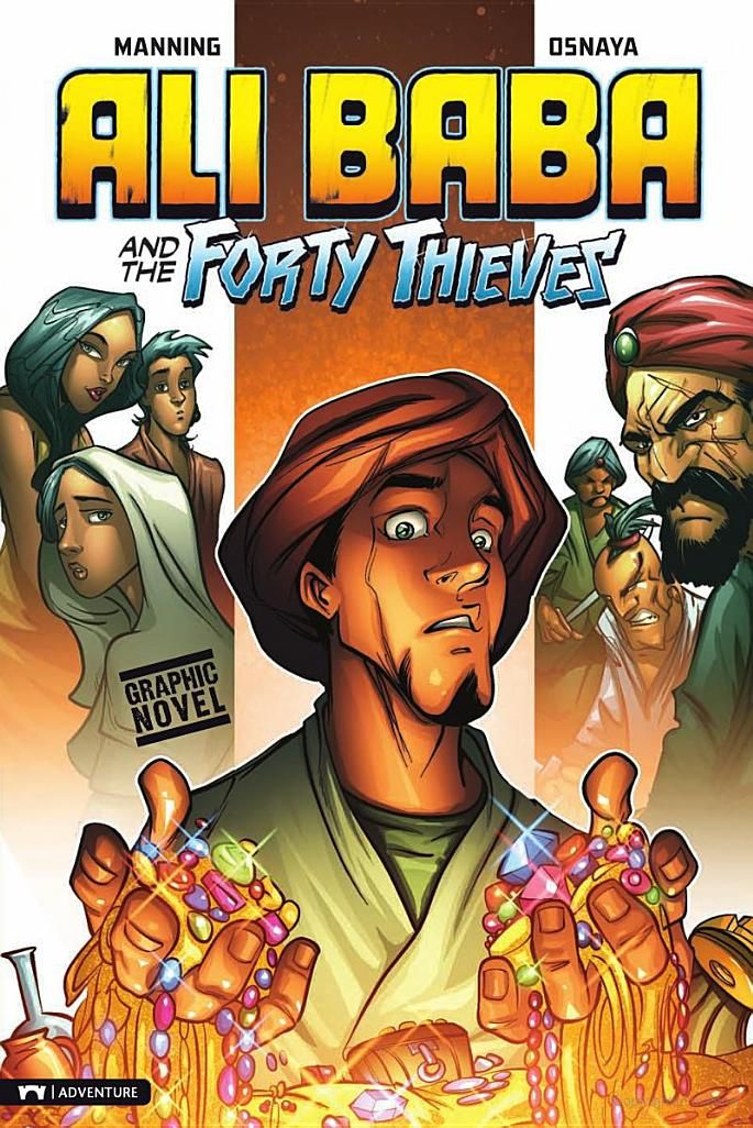 ali baba together with typically the fourty thieves book