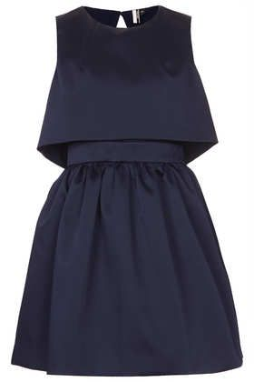 Duchess Satin Skater Dress - I'm thinkin' PERFECT office holiday party frock!!