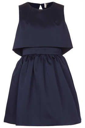 Duchess Satin Skater Dress - Dresses  - Clothing