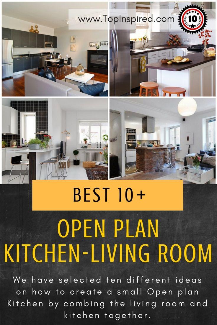 The 25 Best Small Open Plan Kitchens Ideas On Pinterest